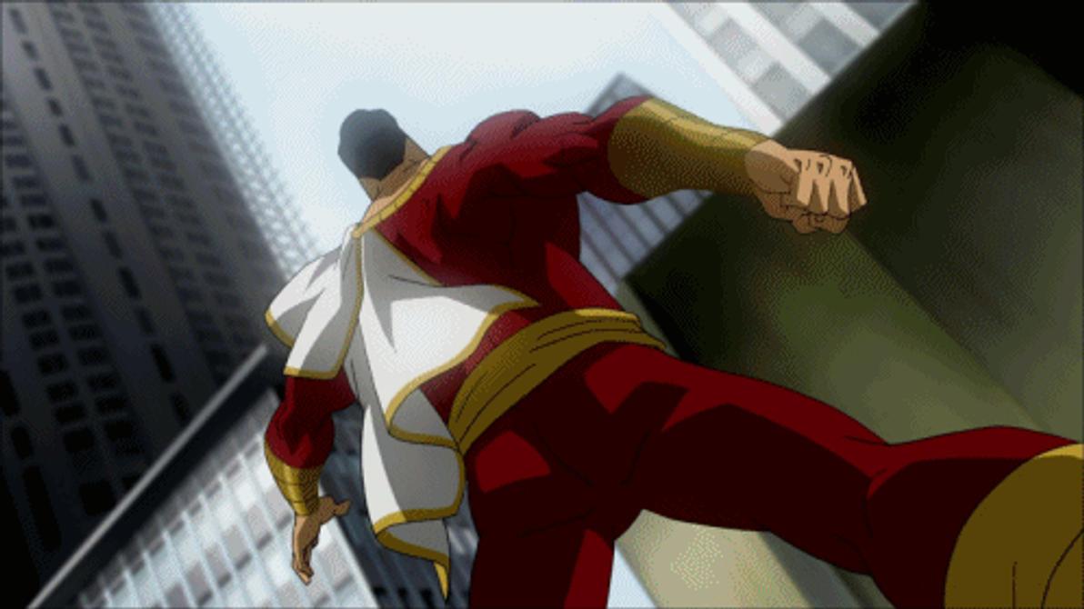 Captain Marvel VS Black Adam by Tsotne-Senpai on DeviantArt