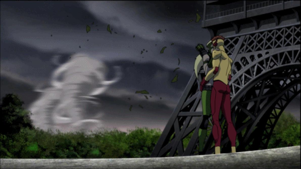 Kid Flash X Artemis by Tsotne-Senpai on DeviantArt