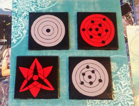 Dem Sharingan/Rinnegan Coasters LOL