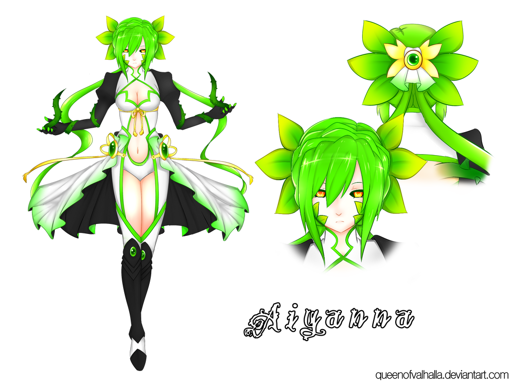 Elsword - Monster Design Entry - Aiyanna by queen-val