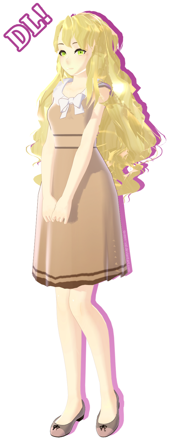 Mystic Messenger MMD - Rika by queen-val