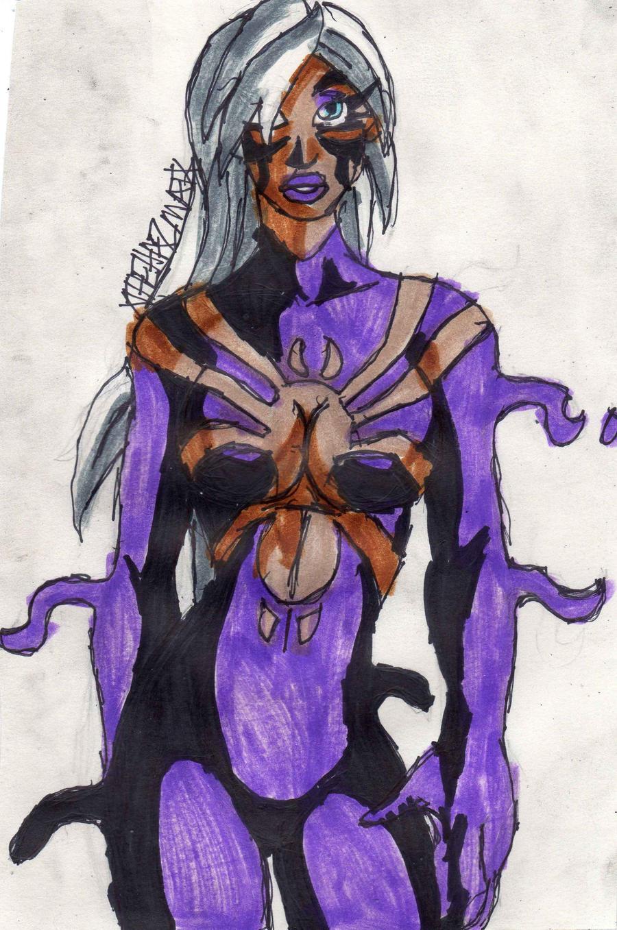 Spider-Man Symbiote Black Cat