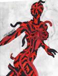 Earth X Venom posing