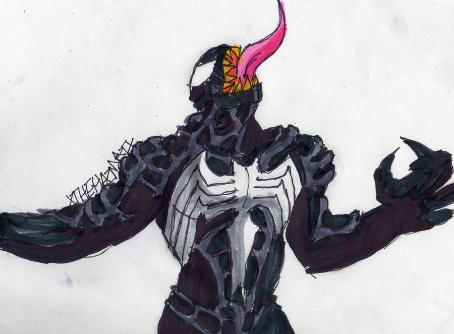Venom from Spider-Man 3 by ChahlesXavierVenom Spiderman 3 Drawings