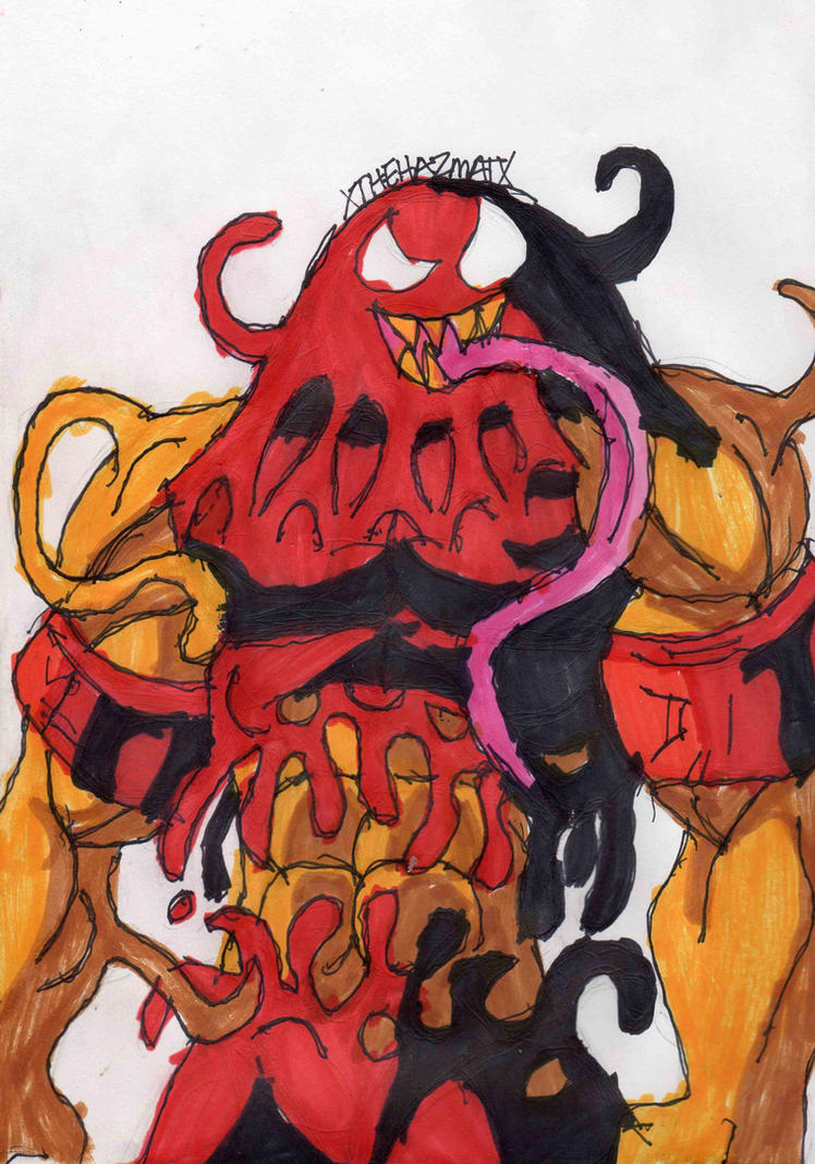 Symbiote Juggernaut Redesign by ChahlesXavierSymbiote Thing