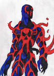 Symbiote Spidey 2099