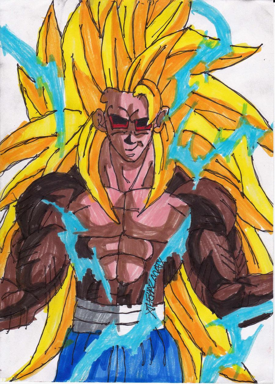 Original SSJ6 Goku Concept by ChahlesXavier