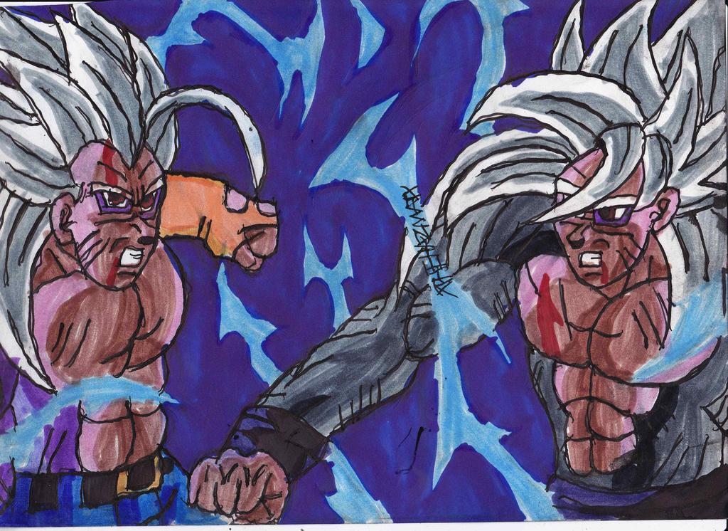 Ssj5 Goku And Vegeta S...