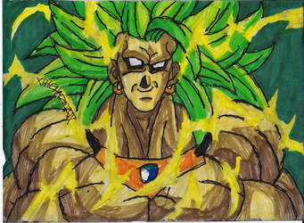 Broly's A Bit Crazy by ChahlesXavier