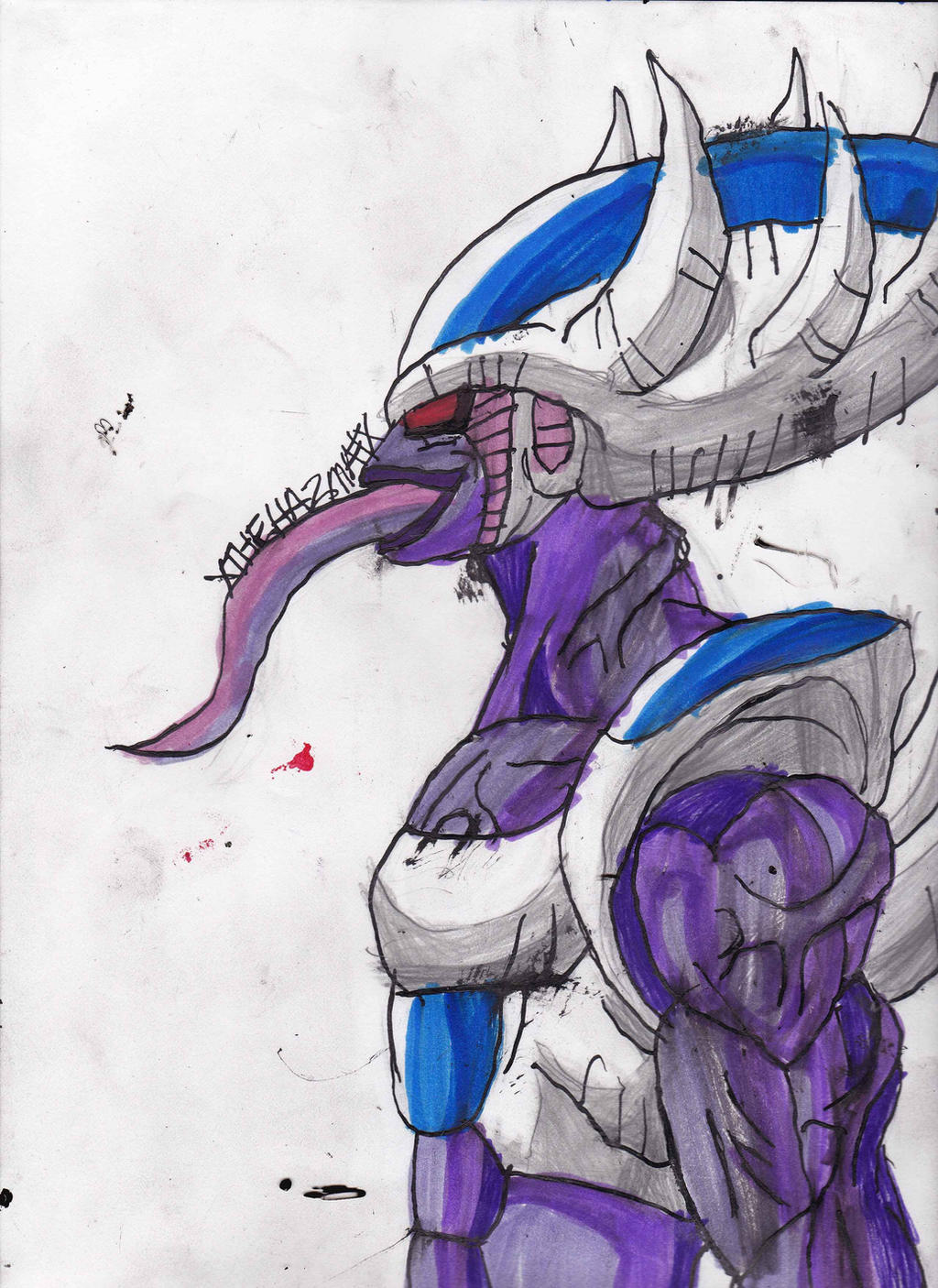 Another 6th form King Cold by ChahlesXavier on DeviantArt