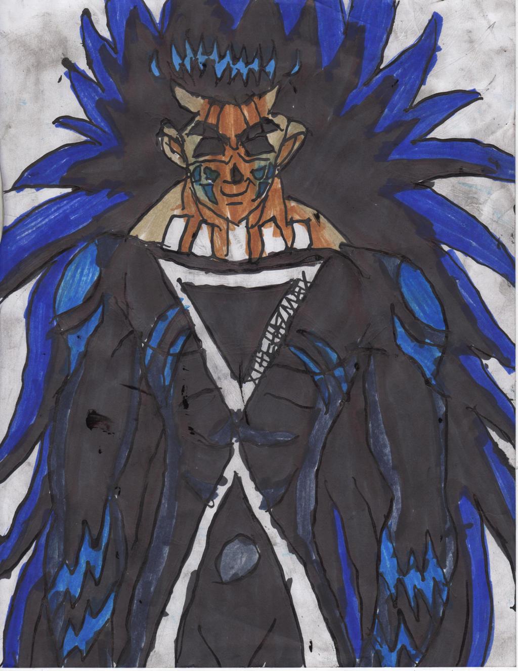 Yusuke demon black lantern by chahlesxavier on deviantart for Yusuke demon