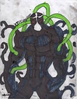 Bane symbiote by ChahlesXavier