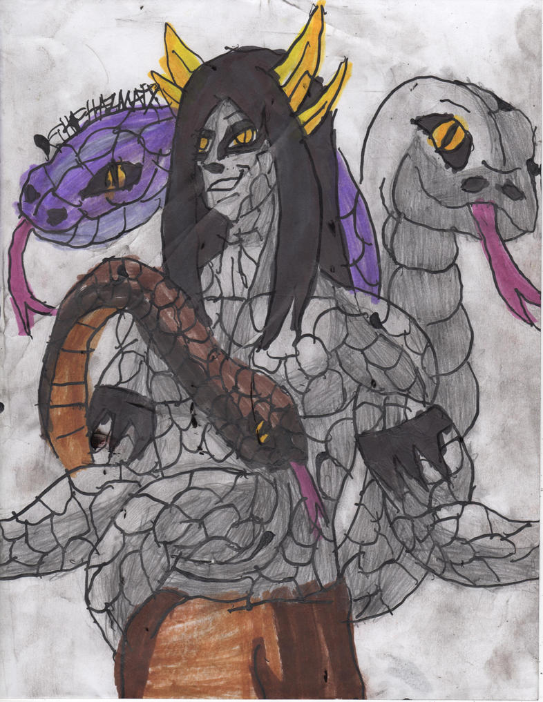 Orochimaru Ultimate Snake Sage by ChahlesXavier on DeviantArt
