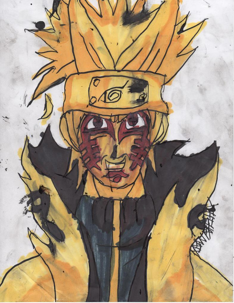 Naruto Bijuu Sennin mode 2 by ChahlesXavier on DeviantArt