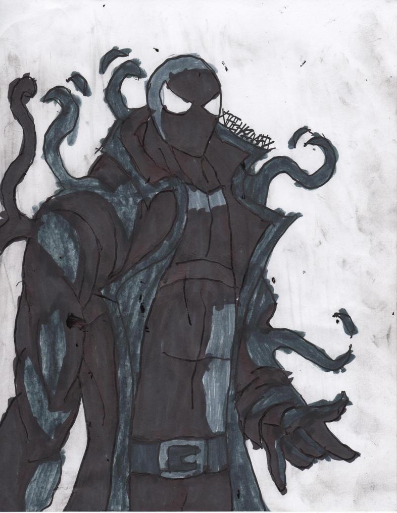 Spider-man noir symbiote by ChahlesXavier on DeviantArt