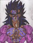 Gohan SSJ4 indigo tribe by ChahlesXavier