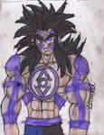 Kuririn: Super Indigo Tribesman by ChahlesXavier
