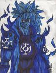 Minato blue lantern bijuu mode by ChahlesXavier