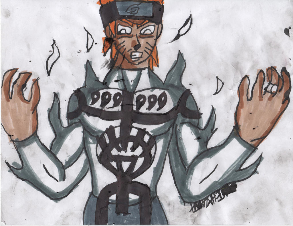 White lantern naruto by chahlesxavier on deviantart for Mural naruto