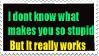 Stupid Stamp by walkingcamera5678