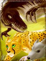 Lizard-Kitty-Vermin:patrolling by eERIechan