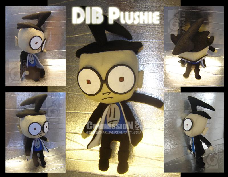 Dib Plushie by eERIechan