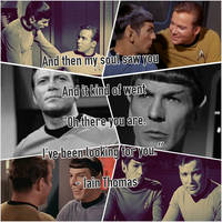 My soul found you (Spirk TOS) by GaHoolianGirl