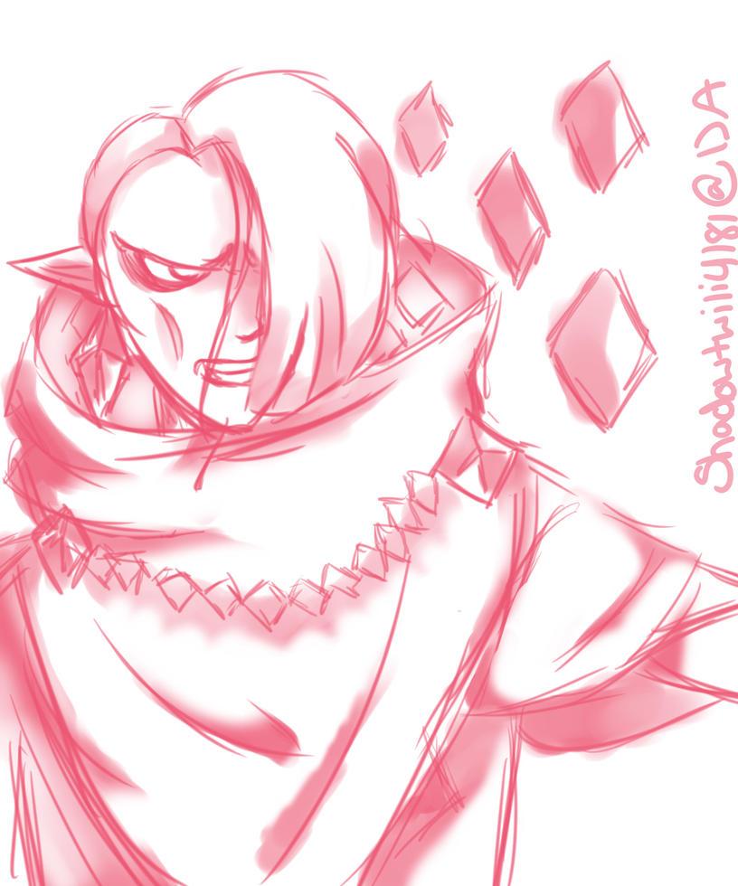 Doodle Ghirahim by Shadowtwili4181