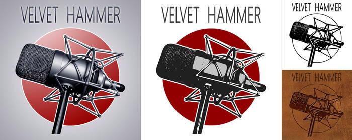 Velvet Hummer Logo Design