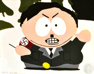 Southpark Cartman Hitler by NickMears