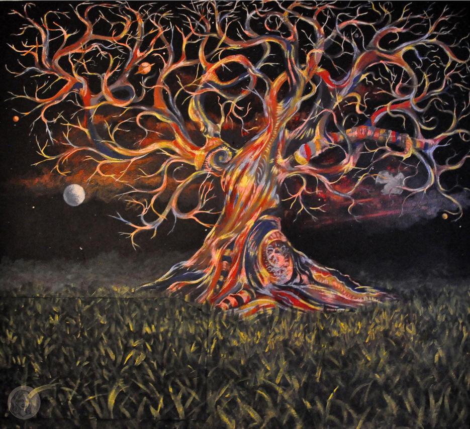 Trippy tree by NickMears