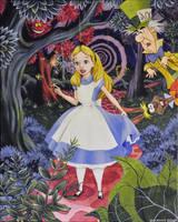 Disney's Alice in Wonderland by NickMears