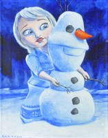 Elsa from Disney's Frozen by NickMears