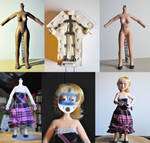 Selinda- stop motion puppet- Making of part 1
