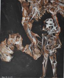 Bone fragment parts by NickMears