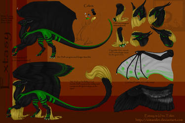Extasy 3.0 reference sheet (outdated) by Syvaender