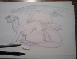 Toothless by Syvaender