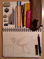 Pencil Case Tag by Syvaender
