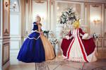 Marie Antoinette and Rosalie La Moliere