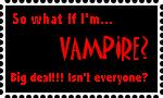 So what if I am vampire? by lolza738