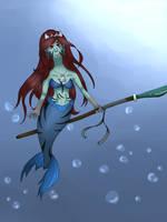 Ruth the Mermaid by AskAngeltheVampire