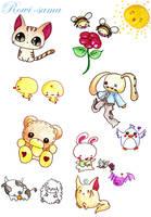 Cute Animals by Rowi-San