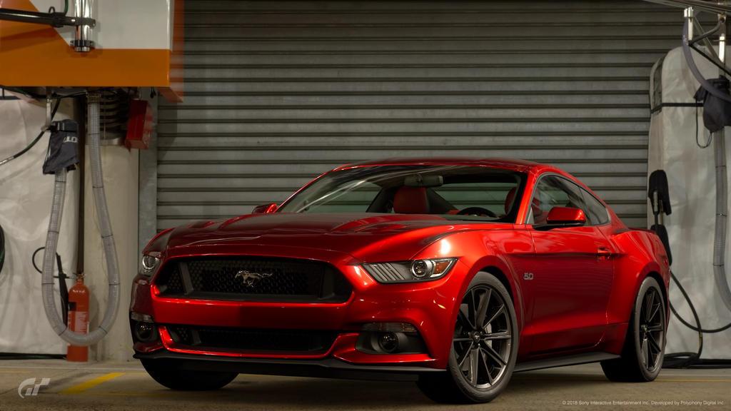 Ford Mustang Gt Premium Fastback By Gt7 Garage On Deviantart