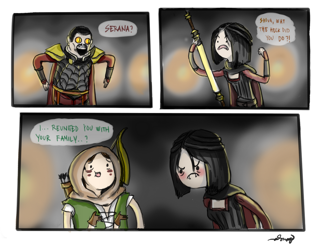 dawnguard time by ihaslemons