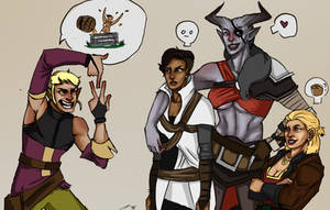 Dragon Age Inquisition by ihaslemons