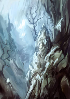 Lost in the mountains [sketch]