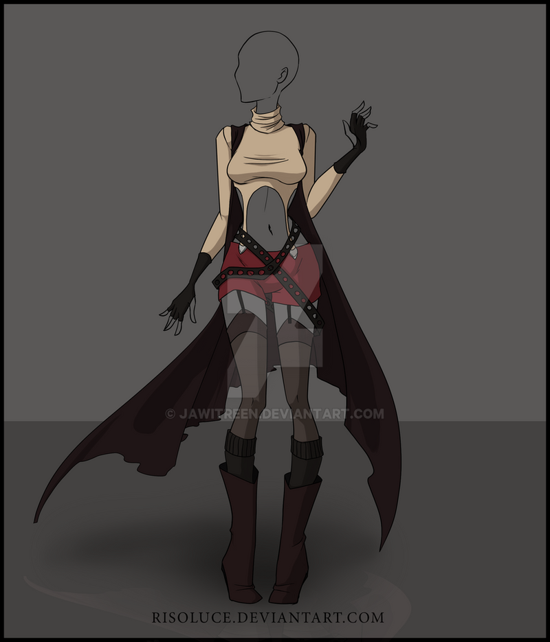 (CLOSED) Adoptable outfit Auction - 3 by JawitReen on DeviantArt