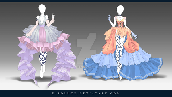 Closed Adoptable Outfit Auction 140 141 By Jawitreen On