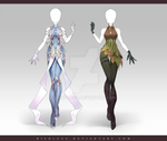 (CLOSED) Adoptable Outfit Auction 164-165