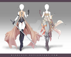 (CLOSED) Adoptable Outfit Auction 168-169
